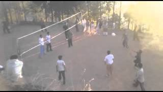 Air gali volleyball match captain vs waqas nazakat