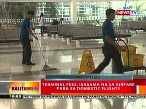 BT: Terminal fees, isasama na sa airfare para   sa domestic flights