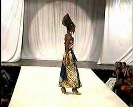 Supermodels of Senegal - Fashion design by Oumou Sy
