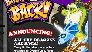 DragonVale: How to breed ALL Dragons Combinations!