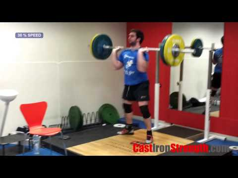 Exercise Tutorials - The Power Clean Image 1