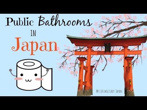 Public bathrooms in Japan