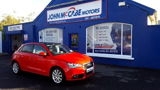 ST13RVR - 2013 Audi A1 1.6 TDI SPORT MOON ROOF 105BHP 5DR FINANCE AVAILABLE...