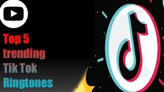 Top 5 trending Tik Tok ringtone _YSG #ringtones #Tiktok