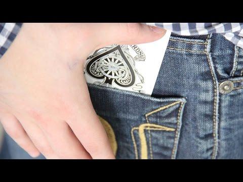 фокус с картами карта в кармане и секрет