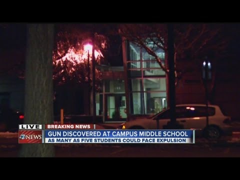 Gun found at Campus Middle School