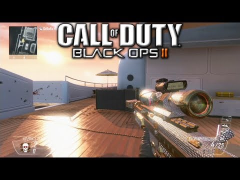 All Black Ops 2 Diamond Camo Snipers! How to Unlock Diamond Camo DSR-50, Ballista, XPR-50, & SVU-AS