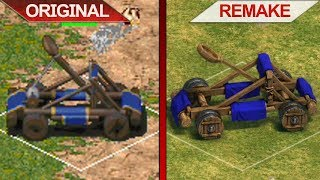 SBS Comparison | Age of Empires vs. Age of Empires: Definitive Edition | 2018 | ULTRA | PC