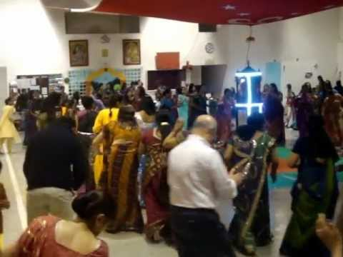 Shiv Mandir ( Lisboa ) Grupo Sweet Sangeet Da India -navratri 2012 video