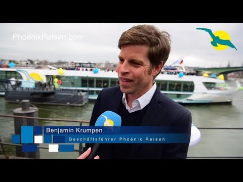 MS ALENA Schiffstaufe - NEUES Flussschiff bei Phoenix Reisen I PHOENIX REISEN TV Folge #85