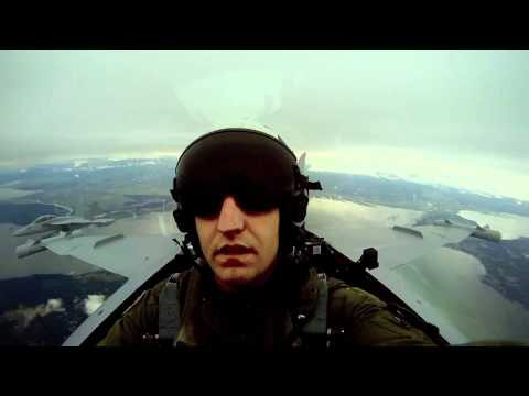 F18 Fighter Jet GoPro Edit
