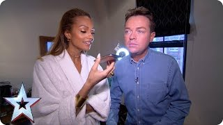 Stephen and Alesha cosy up in, err, bed! | Britain's Got More Talent 2015