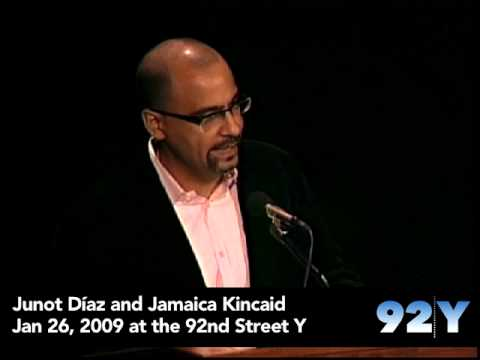 0 Junot Díaz and Jamaica Kincaid at the 92nd Street Y