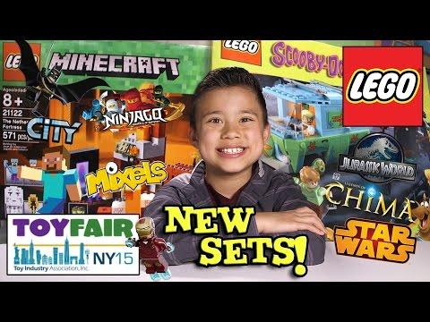 NEW 2015 LEGO SETS!!! NY Toy