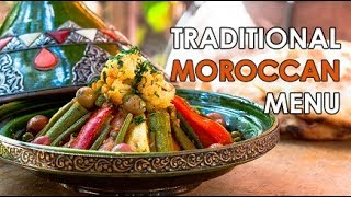 [ENG] Traditional Moroccan Menu / مائدة أطباق مغربية - CookingWithAlia