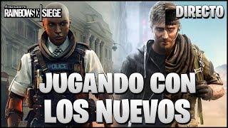 🔴 RANKEDS CON MAVERICK Y CLASH EN GRIM SKY | Caramelo Rainbow Six Siege Español