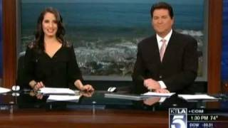 Sara Welch - 1st Day (KTLA - Oct 7th 2011)