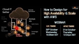 How to Design for High Availability and Scale on AWS