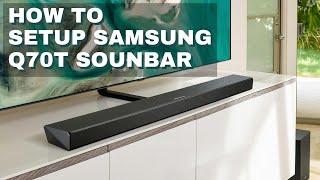 01. Samsung HW-Q70T Soundbar Unboxing & Setup
