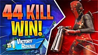 44 KILL WIN! Feat. NoahJ456, TypicalGamer, & CouRageJD (Fortnite Battle Royale)
