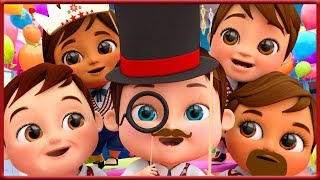 Finger Family Song After Back To School +More Nursery Rhymes   Banana Cartoons