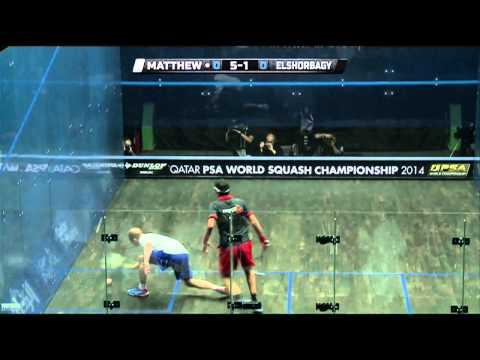 Squash: 2014 PSA World Championship Semi-Finals Roundup