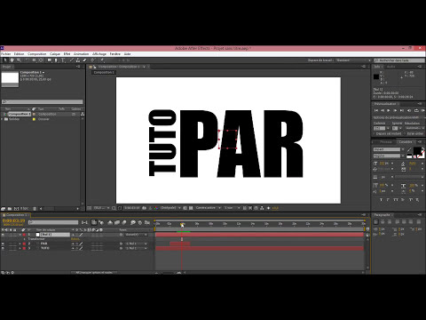 TUTO : Les bases de la Kinetic Typography (After Effects)