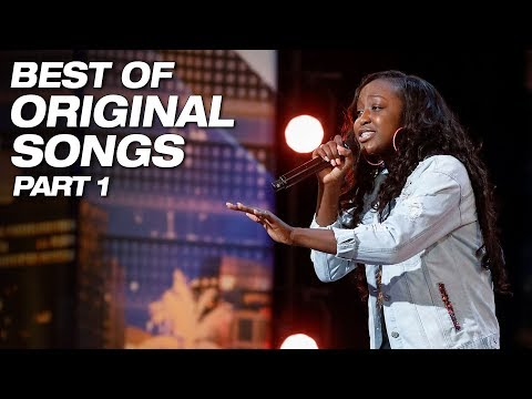 Best Original Songs From Season 13 Part 1 - America's Got Talent 2018