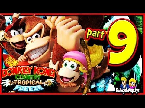 Donkey Kong Country: Tropical Freeze Walkthrough Part 9 Punch Bowl
