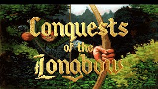Conquests Of The Longbow (PC/DOS) Longplay, 1991, Sierra On-Line