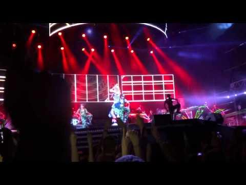 Rihanna - We Found Love and S&M Gdynia Poland 07.07.2013 Heineken...