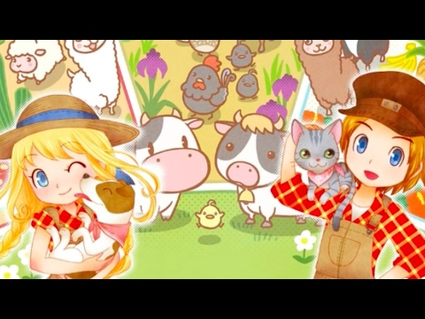 Story of Seasons: Trio of Towns Official Release Date Announcement Trailer