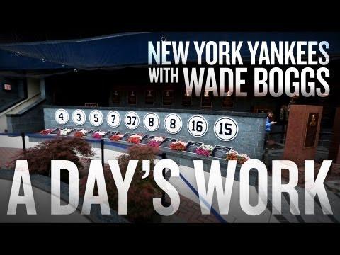 Wade Boggs surprises Yankee Stadium tour - A Day's Work