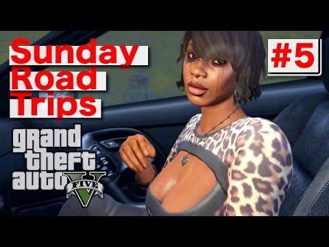 Sunday Road Trip: #5 (GTA V) PS4 Gameplay