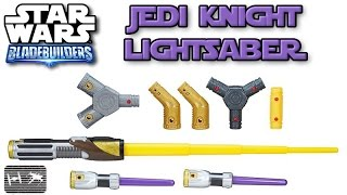 Star Wars The Last Jedi | Jedi Knight Lightsaber Review | Bladebuilders Build your own lightsaber