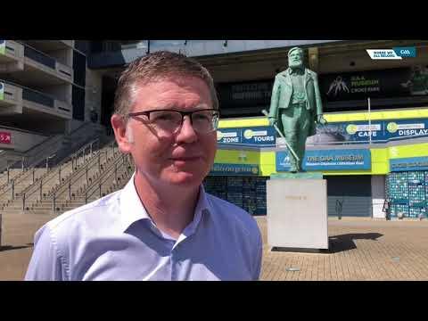GAA Ard Stiúrthóir, Tom Ryan, gives an update on the Association's Covid-19 roadmap.