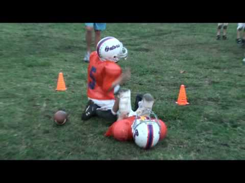 Big Football Hit-Helmet to Helmet