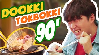 THỬ THÁCH ĂN BUFFET TOKBOKKI TRONG 90' | REVIEW DOOKKI TOKBOKKI | REVIEW NHÀ HÀNG