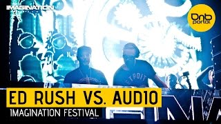 Ed Rush VS. Audio - Imagination Festival 2014 [DnBPortal.com]