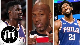 Chauncey Billups doubles down on Joel Embiid-DeAndre Ayton comparison | The Jump