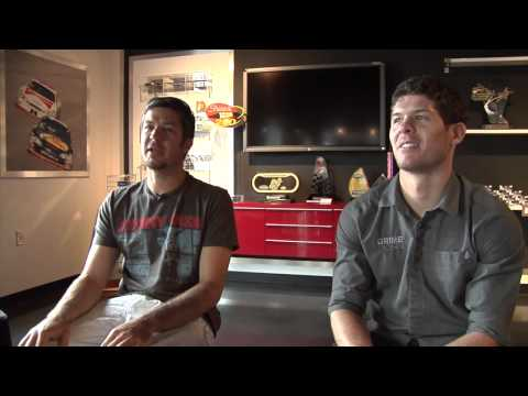 Martin Truex and Ryan Truex talk Racing and Family Together 2013