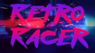 Retro Racer intro VHS style