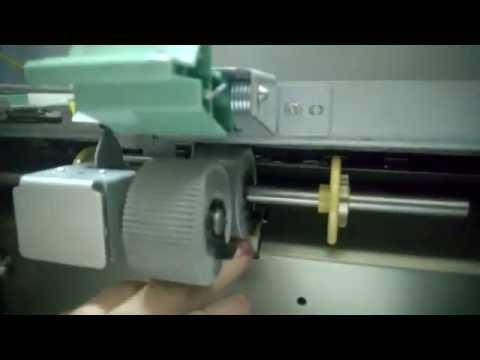 Дубликатор RISO CZ 100 не захватывает бумагу. Замена тормозной площадки