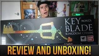THE FIRST EVER OFFICIAL KEYBLADE! - Proplica Keyblade Unboxing and Review!