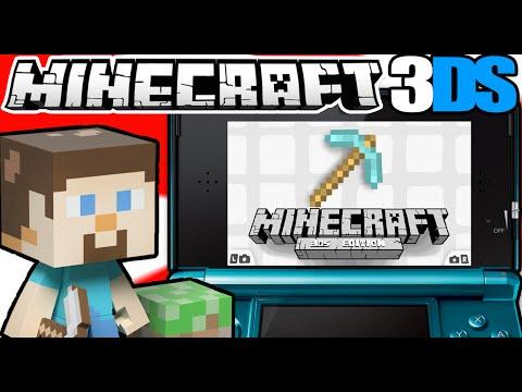 Minecraft Para Nintendo 3DS [Guia Completa] Proyecto Exitoso! 2014.