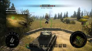 World of Tanks: Xbox 360 Edition Beta - Gameplay - Battle Training