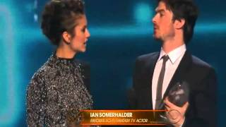 Ian Somerhalder & Nina Dobrev win People
