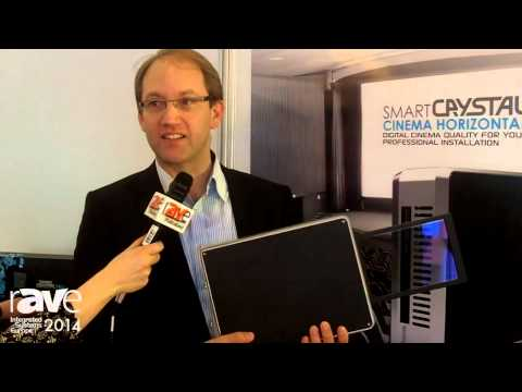 ISE 2014: Volfoni CEO Presents Dedicated Passive Polarizing System, Smart Crystal Cinema