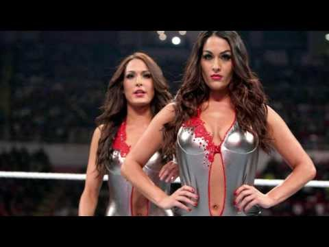 Bella Twins sexy in defeat 2