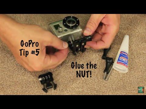 Super Glue For Screw / Dome Nut - GoPro Tip #5